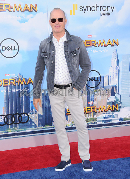 """28 June 2017 - Hollywood, California - Michael Keaton. """"Spider-Man: Homecoming"""" Los Angeles Premiere held at the TCL Chinese Theatre in Hollywood. Photo Credit: Birdie Thompson/AdMedia"""