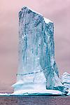 Eastern Greenland, massive iceberg