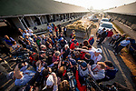 LOUISVILLE, KY - MAY 06: Trainer Bob Baffert is surrounded by media the morning after wining the Kentucky Derby with Justify at Churchill Downs on May 6, 2018 in Louisville, Kentucky. (Photo by Scott Serio/Eclipse Sportswire/Getty Images)