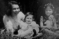 Rome, Italy. Renata Rivelli, the mother of Ornella Muti.