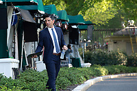 Chad Wolf, acting secretary of the Department of Homeland Security (DHS), departs a television interview outside the White House in Washington D.C., U.S., on Tuesday, June 23, 2020.  Credit: Stefani Reynolds / CNP/AdMedia