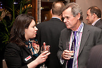 Abi Selwood of Graham Penny with Mark Jenkinson of Nelsons