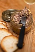 Europe/France/Aquitaine/64/Pyrénées-Atlantiques/Béarn/Pau: Terrine de canard   recette de Thierry Lassala -  restaurant: Ze Bistrot