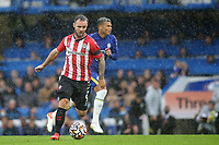 Adam Armstrong of Southampton in action during Chelsea vs Southampton, Premier League Football at Stamford Bridge on 2nd October 2021