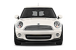 Car photography straight front view of a 2014 MINI MINI COOPER CLUBVAN 5 Door Wagon 2WD Front View