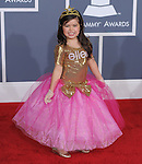 Sophia Grace  attends The 54th Annual GRAMMY Awards held at The Staples Center in Los Angeles, California on February 12,2012                                                                               © 2012 DVS / Hollywood Press Agency