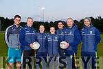 Kerry Ladies managers Declan Quill and Darragh Long with their management team Rory Doyle,  Declan Quill, Geraldine O'Shea, Cassandra Buckley Anna Maria O'Donoghue, Darragh Long Gary Kissane