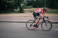 Kris Boeckmans (BEL/Lotto-Soudal) laying it down<br /> <br /> 2017 National Championships Belgium - Elite Men - Road Race (NC)<br /> 1 Day Race: Antwerpen > Antwerpen (233km)