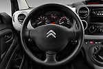 Car pictures of steering wheel view of a 2016 Citroen Berlingo-Furgon Club-M 4 Door Car Van Steering Wheel