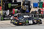 #18: Riley Herbst, Joe Gibbs Racing, Toyota Supra Monster