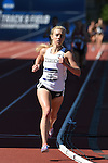 13 JUNE 2015: Emily Sisson of Providence runs in the NCAA Championship in the Women's 5000 meters during the Division I Men's and Women's Outdoor Track & Field Championship held at Hayward Field in Eugene, OR. Sisson won the race in a time of 15:34.10. Steve Dykes/ NCAA Photos