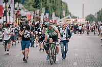 green jersey winner Michael Matthews (AUS/Sunweb)<br /> <br /> 104th Tour de France 2017<br /> Stage 21 - Montgeron › Paris (105km)