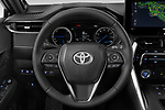 Car pictures of steering wheel view of a 2021 Toyota Venza Limited 5 Door SUV Steering Wheel