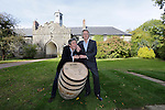 "Alex Conyngham, Earl of Mount Charles and dad Henry Conyngham, the eighth Marquess Conyngham at the ground breaking for the new $50 Million Slane Distillery on the grounds of Slane Castle.<br /> Picture Fran Caffrey /Newsfile.ie<br /> <br /> BROWN-FORMAN BREAKS GROUND ON<br /> NEW $50 MILLION SLANE DISTILLERY<br /> <br /> US Ambassador joins Conyngham and Brown families for historic occasion<br /> <br /> Distillery and Visitor Centre to be completed late 2016<br /> <br /> The US Ambassador to Ireland, Kevin F. O'Malley, was guest of honour today at the official ground breaking ceremony for the $50 million (approximately €44 million) Slane Distillery on the historic Slane Castle Estate in Co. Meath, home of Henry Conyngham, the eighth Marquess Conyngham, and his son Alex Conyngham, Earl of Mount Charles.<br />  <br /> The distillery, which will also include a Visitor Centre, is being built by leading US Drinks firm Brown-Forman Corporation, the owners of Jack Daniel's, Southern Comfort and Woodford Reserve which bought all shares of Slane Irish Whiskey Company from the Conyngham family earlier this year.  The Conynghams remain centrally involved in the development of the new distillery and the new whiskey brands which will be introduced in early 2017. <br />  <br /> This is the first new distillery Brown-Forman has built outside of the US and represents its entry into distilling Irish whiskey, one of the fastest growing spirits categories over the last few years.  When completed by the end of 2016, Slane Distillery will create nearly 25 new full-time jobs while the construction process will support approximately 80 jobs.  The Slane Distillery and Visitor Centre will be a welcome new attraction to the Boyne Valley tourism trail.<br />  <br /> The US Ambassador signed the first cask that will be filled with whiskey from the distillery and commented on the significance of the occasion, ""There are so many links between Ireland and the great state of Kentucky – people, music, horses and a great tradition of making the finest whiskies.  This is a truly mode"