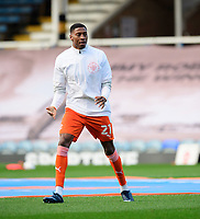 Blackpool's Marvin Ekpiteta during the pre-match warm-up<br /> <br /> Photographer Chris Vaughan/CameraSport<br /> <br /> The EFL Sky Bet League One - Peterborough United v Blackpool - Saturday 21st November 2020 - London Road Stadium - Peterborough<br /> <br /> World Copyright © 2020 CameraSport. All rights reserved. 43 Linden Ave. Countesthorpe. Leicester. England. LE8 5PG - Tel: +44 (0) 116 277 4147 - admin@camerasport.com - www.camerasport.com