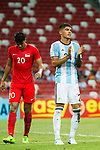 Carlos Correa of Argentina (R) gestures during the International Test match between Argentina and Singapore at National Stadium on June 13, 2017 in Singapore. Photo by Marcio Rodrigo Machado / Power Sport Images