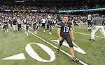 Tulane defeats Tulsa, 14-7, in football action at the Mercedes-Benz Superdome and pushes their record to 6-2 to become bowl eligible.