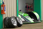 Motorsport Technology workshop entrance at the Pembrey Motor Circuit in Llanelli.