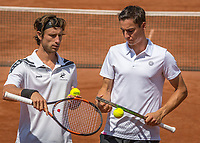 The Hague, Netherlands, 17 July, 2017, Tennis,  The Hague Open, Mens doubles: Sander Gille (BEL) / Joran Vliegen (BEL) (R)<br /> Photo: Henk Koster/tennisimages.com
