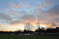 General view as the sun sets over The Stadium - AFC Hornchurch vs Farnborough - FA Challenge Trophy1st Round Football at The Stadium - 10/12/11 - MANDATORY CREDIT: Gavin Ellis/TGSPHOTO - Self billing applies where appropriate - 0845 094 6026 - contact@tgsphoto.co.uk - NO UNPAID USE.