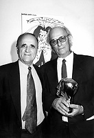 1995 EXCLUSIVE File Photo - Serge Losique, Carlos Saura and his Grand-Prize of the Americas