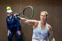 Alphen aan den Rijn, Netherlands, December 18, 2019, TV Nieuwe Sloot,  NK Tennis, Wheelchair womans doubles:   Michaela Spaanstra (NED) <br /> Photo: www.tennisimages.com/Henk Koster