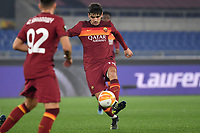 Gonzalo Villar of AS Roma in action during the Europa League round of 32 2nd leg football match between AS Roma and Sporting Braga at stadio Olimpico in Rome (Italy), February, 25th, 2021. Photo Andrea Staccioli / Insidefoto