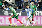 CD Leganes' Oscar Rodriguez Arnaiz (R) and Deportivo Alaves' Ximo Navarro during La Liga match. November 23,2018. (ALTERPHOTOS/Alconada)