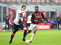 Milano 07-02-2021<br /> Stadio Giuseppe Meazza<br /> Serie A  Tim 2020/21<br /> Milan - Crotone nella foto:  Rafael Leo                                                        <br /> Antonio Saia Kines Milano
