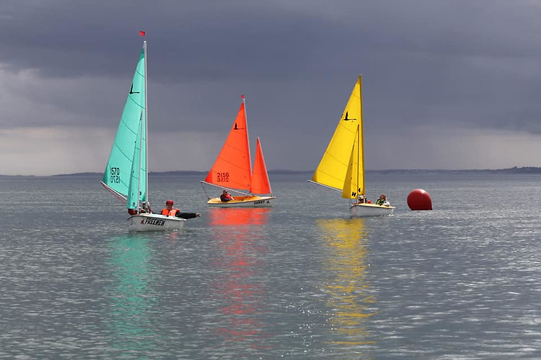 Racing in the Hanse 303 section