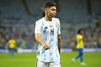 10th July 2021, Estádio do Maracanã, Rio de Janeiro, Brazil. Copa America tournament final, Argentina versus Brazil;  Gonzalo Montiel of Argentina