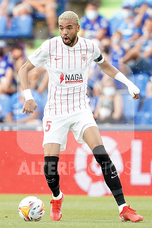 Sevilla FC's Youssef En-Nesyri during La Liga match. August 23,2021. (ALTERPHOTOS/Acero)