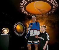 Rotterdam, The Netherlands. 15.02.2014. ABN AMRO World Tennis Tournament Tomas Berdych(TSJ)<br /> Photo:Tennisimages/Henk Koster