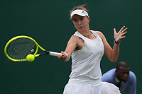 3rd July 2021; Wimbledon, SW London. England; Wimbledon Tennis Championships, day 6;  Barbora Krejcikova , CZE