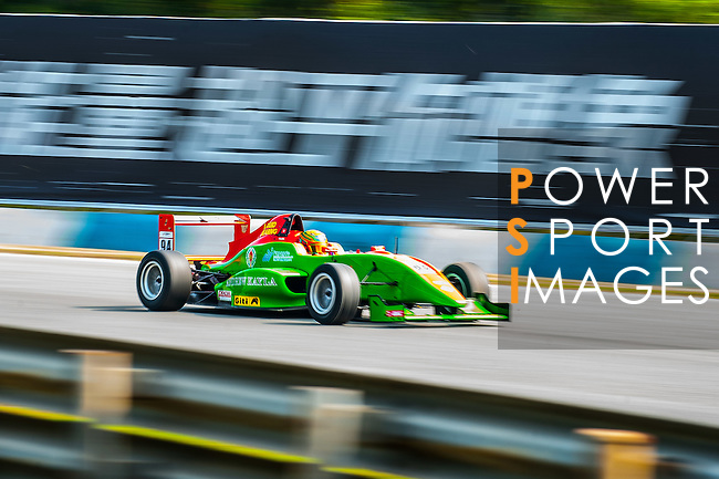 William Lok of Hong Kong and Eurasia Motorsport drives during Formula Masters China Series as part of the 2015 Pan Delta Super Racing Festival at Zhuhai International Circuit on September 18, 2015 in Zhuhai, China.  Photo by Aitor Alcalde / Power Sport Images