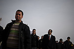© Remi OCHLIK/IP3 - Sidi Bouzid Tunisia the 20 january 2011 - Sidi Bouzid resdidents demonstrate  in front of  In front of government building where Mohamed set him on fire .When Mohamed Bouazizi set himself alight on Dec. 17, he sparked flames far greater than the ones that would ultimately kill him. The Tunisian man, an unemployed college graduate with children to feed, had tried finding work hawking vegetables, but was thwarted by police, who confiscated his cart. So in a grisly act of protest and anguish, Bouazizi doused himself in gasoline and set himself ablaze...The act of self-immolation not only triggered the current political crisis in Tunisia, which ousted the president Jan. 14 and has led to a complicated political impasse. It also inspired copycat self-immolations across North Africa, who attempted this very sensational form of suicide as statements of their own desperation and frustration with the authoritarian regimes in their countries. The latest count of protesters who have set themselves on fire in North Africa is up to eight, with four in Algeria, two in Egypt and one in Mauritania, as well as Bouazizi's act in Tunisia...