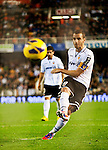 Football Spanish First Divission - BBVA League.<br /> Valencia CF (2) vs (1) RCD Espanyol.<br /> Mestalla Stadium.<br /> 17 - 11 - 2012.