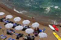 Italien, Ischia, Strand vor Sant'Angelo