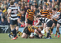 2015 ULSTER SCHOOLS CUP FINAL | Tuesday 17th March 2015<br /> <br /> John Dickson during the 2015 Ulster Schools Cup Final between RBAI and Wallace High School at the Kingspan Stadium, Ravenhill Park, Belfast, Count Down, Northern Ireland.<br /> <br /> Picture credit: John Dickson / DICKSONDIGITAL