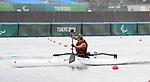 Brianna Hennessy, Tokyo 2020 - Para Canoe // Paracanoë.<br /> Brianna Hennessy competes in the women's single VL2 200m Kayak // Brianna Hennessy participe au kayak simple féminin VL2 200m. 09/02/2021.