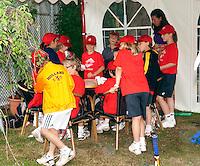 06-06-10, Tennis, Den Haag, Playoffs Eredivisie, Ballenkinderen