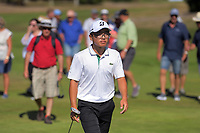 Jang Hyun Lee during the final against Daniel Hillier. Final day of the Jennian Homes Charles Tour / Brian Green Property Group New Zealand Super 6s at Manawatu Golf Club in Palmerston North, New Zealand on Sunday, 8 March 2020. Photo: Dave Lintott / lintottphoto.co.nz