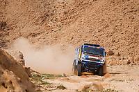 7th January 2021; Riyadh to Buraydah, Saudi Arabia; Dakar Rally, stage 5;  501 Shibalov Anton (rus), Nikitin Dmitrii (rus), Tatarinov Ivan (rus), Kamaz, Kamaz - Master, Camion, Truck, action during the 5th stage of the Dakar 2021 between Riyadh and Buraydah, in Saudi Arabia on January 7, 2021