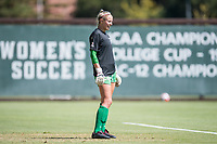 STANFORD, CA - SEPTEMBER 12: Haley Craig before a game between Loyola Marymount University and Stanford University at Cagan Stadium on September 12, 2021 in Stanford, California.