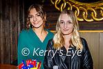 Enjoying the evening in Molly J's on Saturday, l to r: Matea Bogdanovic and Dejana Grubjesic.