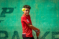 Hilversum, Netherlands, Juli 29, 2019, Tulip Tennis center, National Junior Tennis Championships 12 and 14 years, NJK, Yanik Maarsen (NED)<br /> Photo: Tennisimages/Henk Koster
