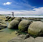New Zealand, South Island, Moeraki: Moeraki Boulders | Neuseeland, Suedinsel, Moeraki: Moeraki Boulders