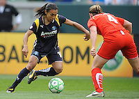 Los Angeles Sol (10) Marta Vieira da Silva during a game against  the  Washington Freedom  at the Home Depot Center in Carson, CA on Sunday, March 29, 2009..