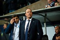 Swansea, UK. Thursday 20 February 2014<br /> Pictured: Rafa Benitez, Manager of Napoli<br /> Re: UEFA Europa League, Swansea City FC v SSC Napoli at the Liberty Stadium, south Wales, UK