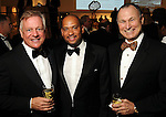 From left: John Kotts, Marcus Smith and Mike Ballases at the One Great Night in November event at the Museum of Fine Arts Houston Wednesday Nov. 16,2011.(Dave Rossman/For the Chronicle)